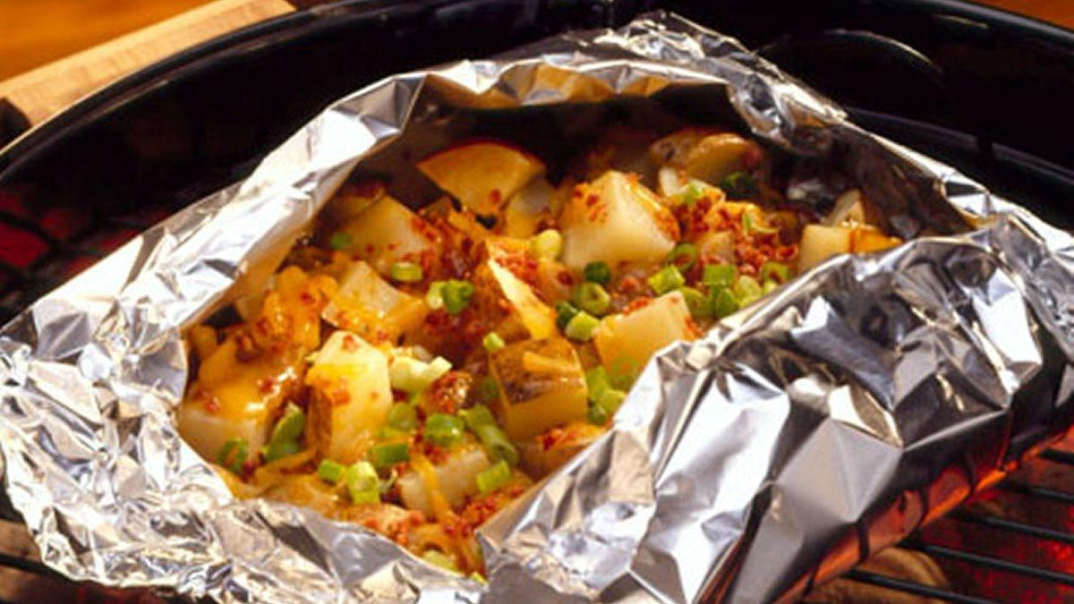 Smoky Cheddar Potatoes