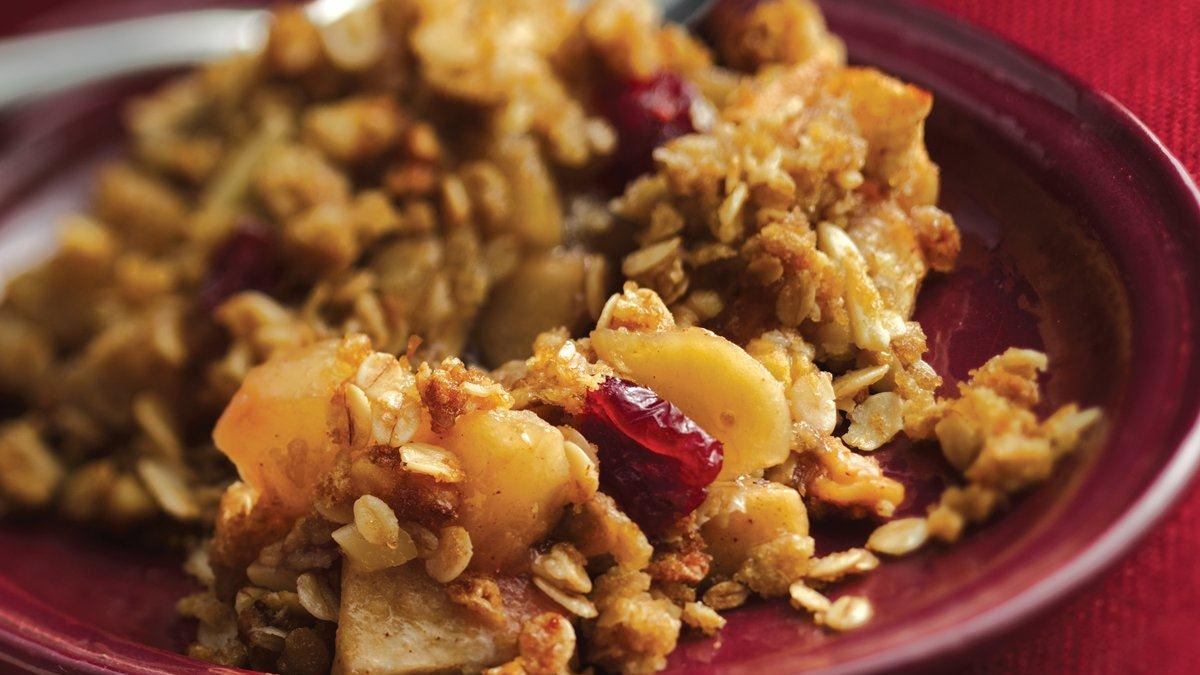 Apple-Cranberry Crisp (Gluten Free)