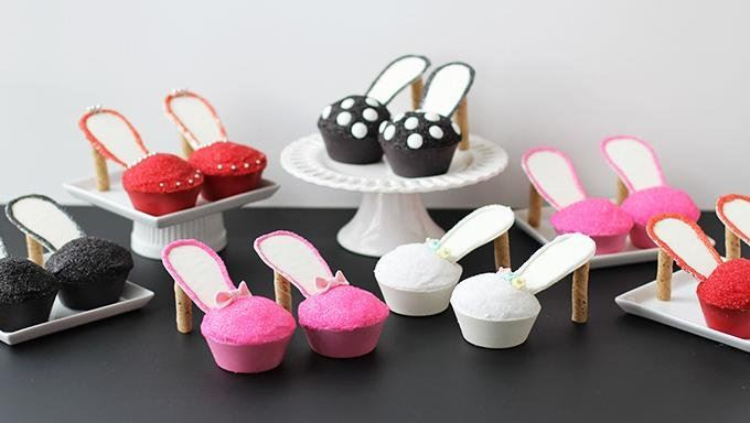Stiletto Cupcakes Recipe From Tablespoon