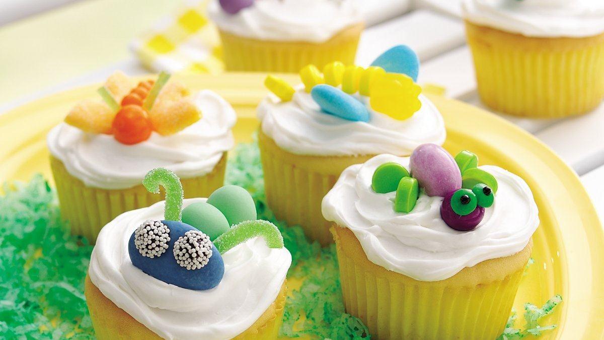 Petits gâteaux bestioles