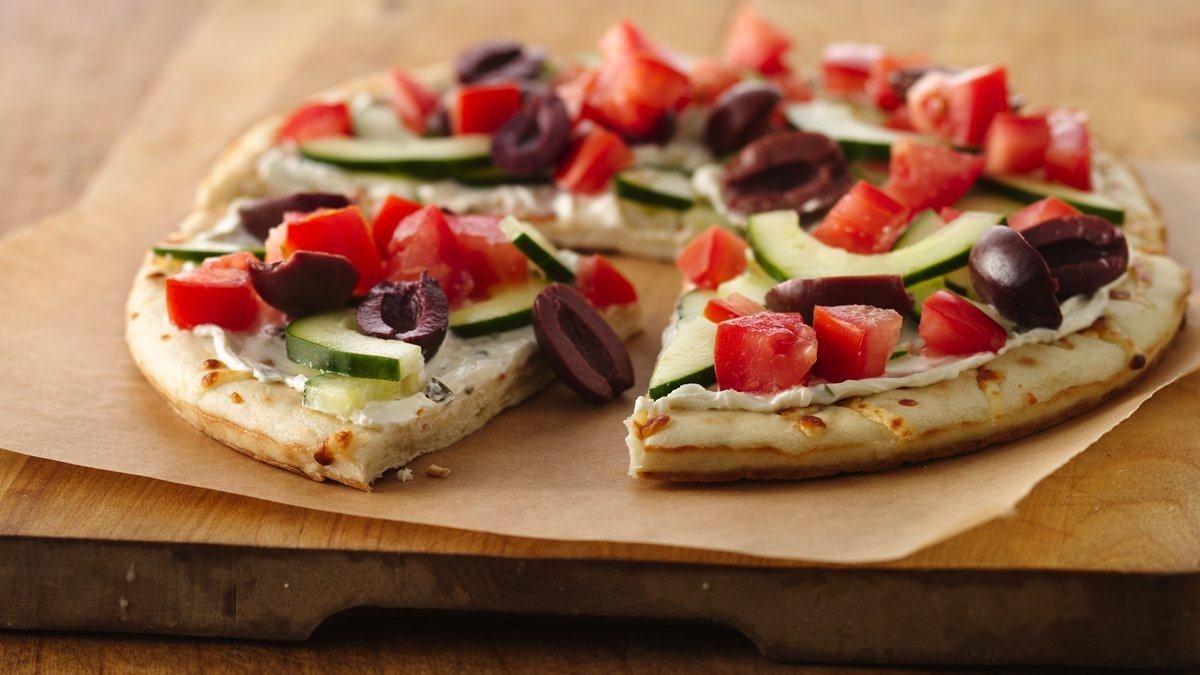 Garden-Fresh Pizza