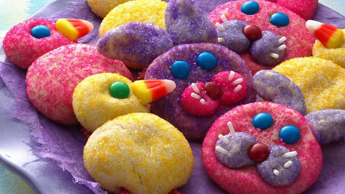 Easter Bunny & Chick Cookies