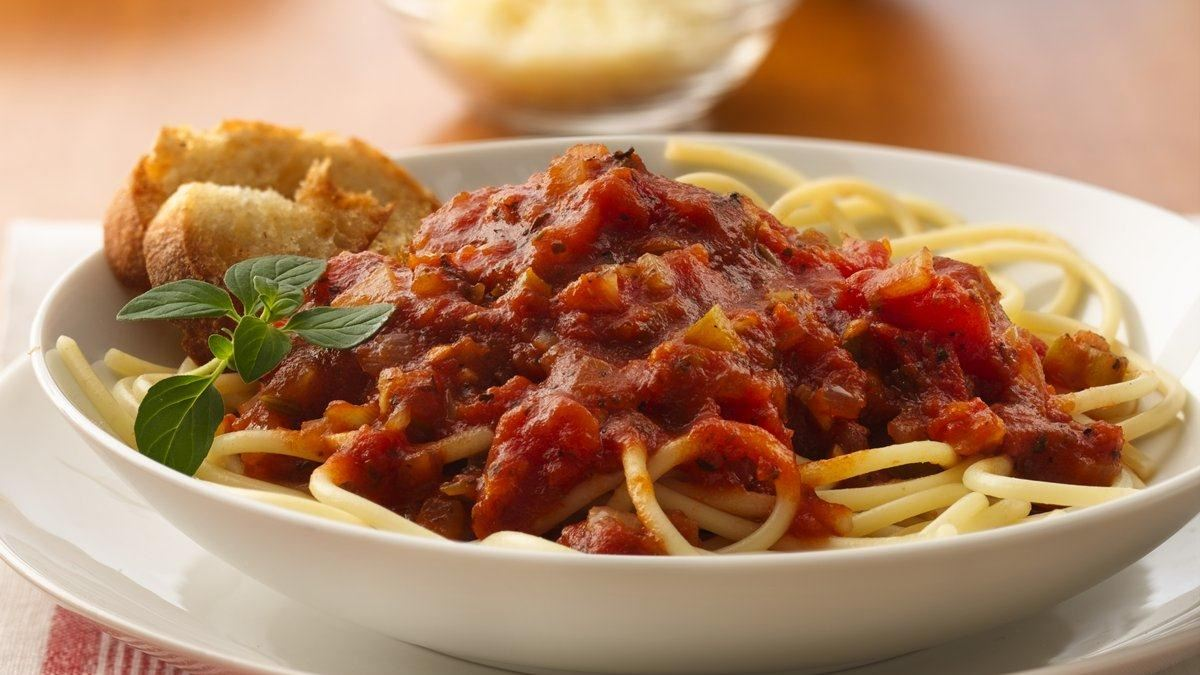 Spaghetti with Marinara Sauce
