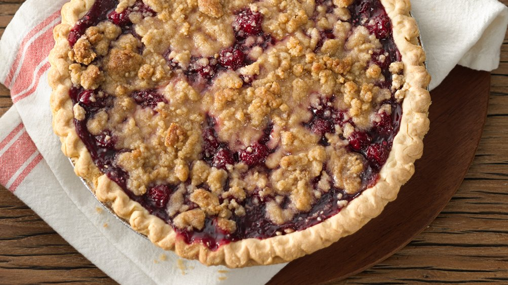 Cherry Crumb Pie recipe from Pillsbury.com