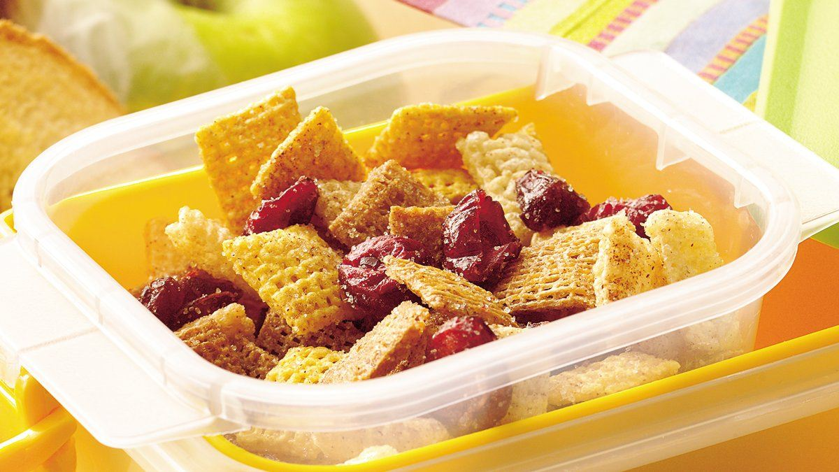 Cinnamon Raisin Chex Snack Mix