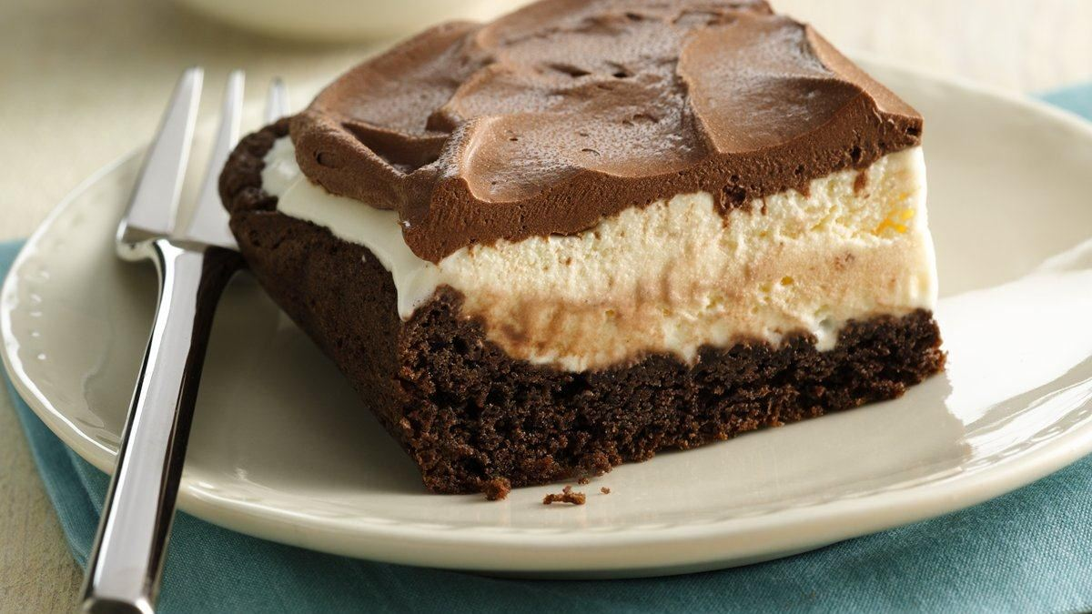 Mud Slide Ice-Cream Cake
