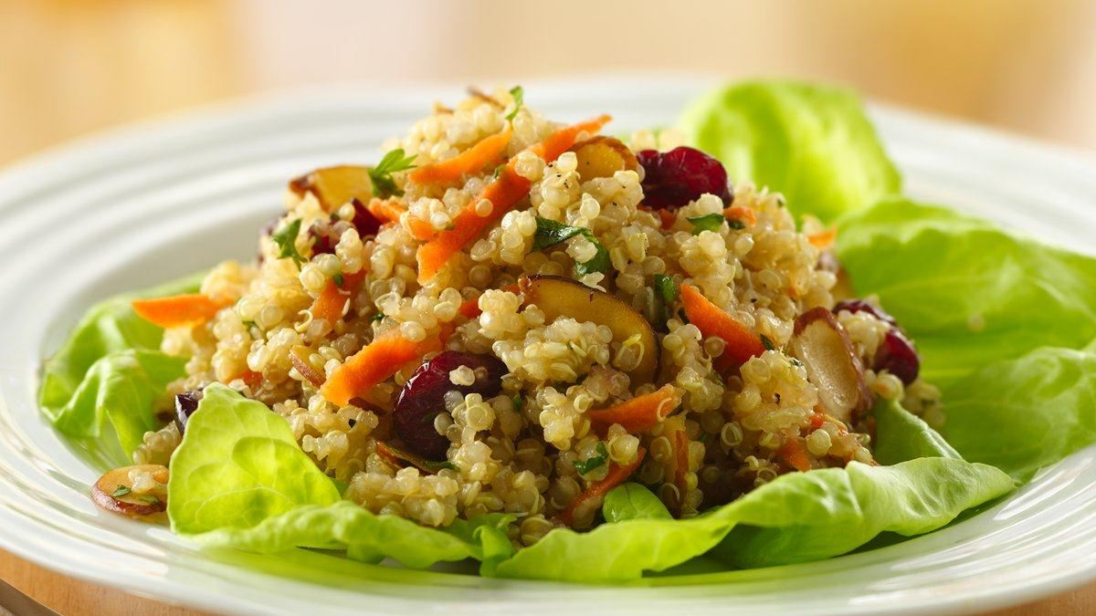 Quinoa Almond Salad