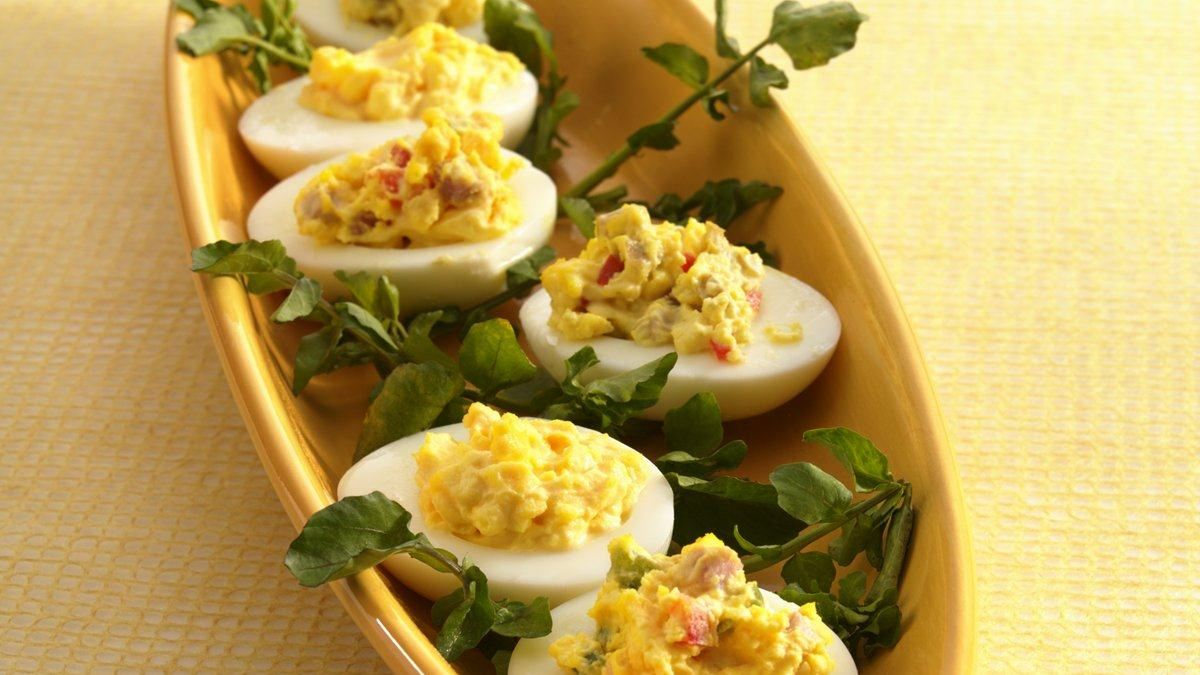Healthified Deviled Eggs