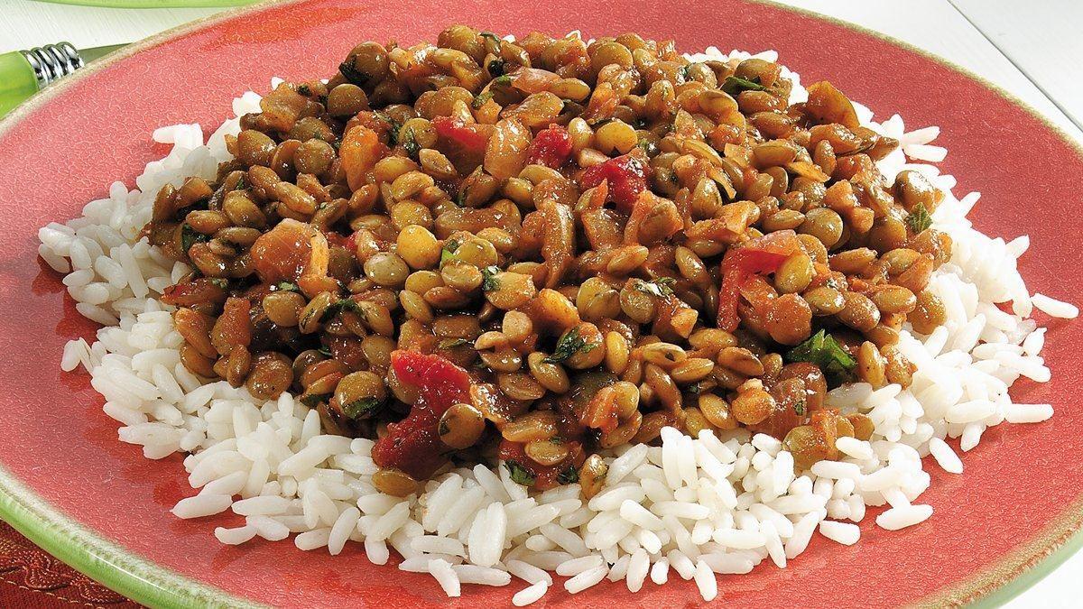 Salsa Lentils