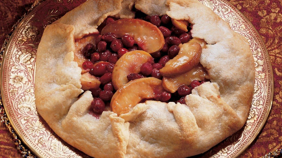 Very Merry Cran-Apple Crostata