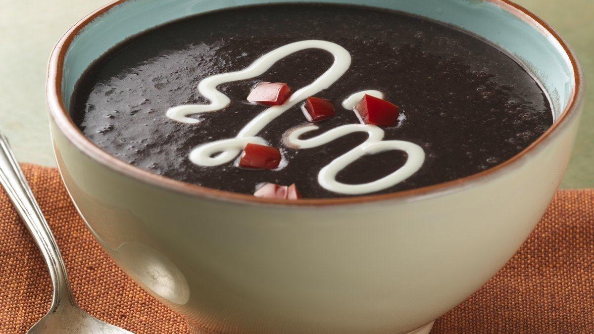 Restaurant-Style Black Bean Soup