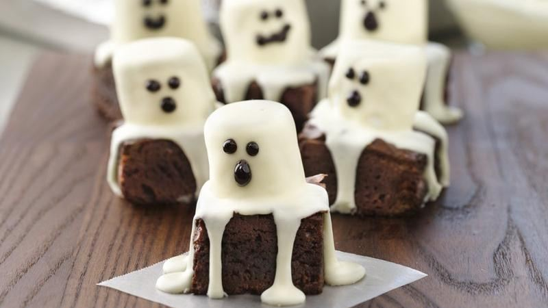 Kakaolu Islak Kek Spooky Boo Brownies