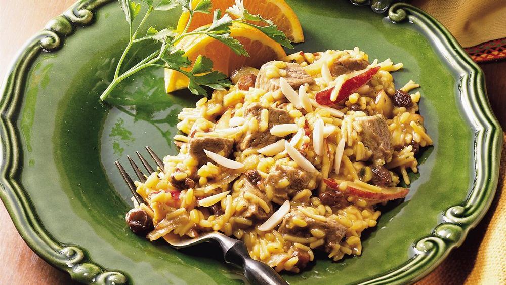 Moroccan Lamb and Rice recipe from Pillsbury.com