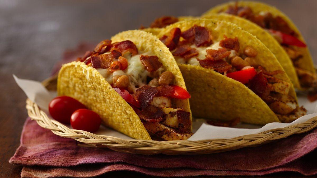 Wild West Sizzlin Chicken Tacos