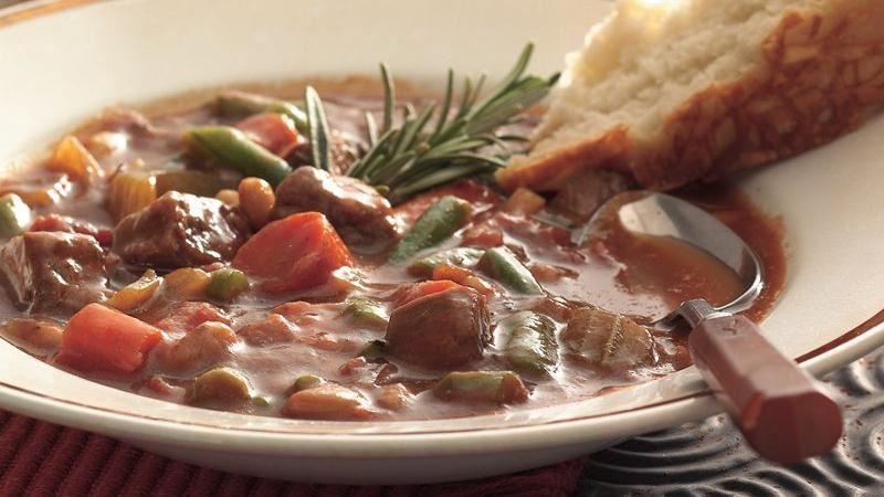 Slow-Cooker Italian Beef Stew recipe from Betty Crocker