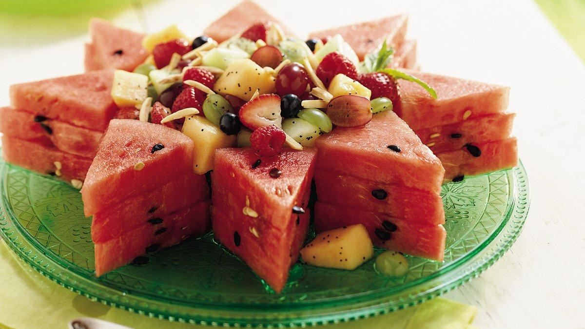 Honey-Lime Fruit Salad Recipe (Gluten Free)