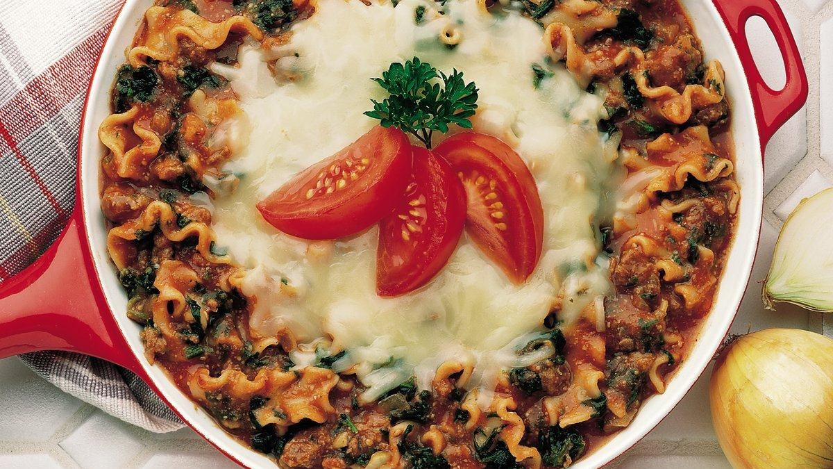 One-Pot Lasagna Florentine