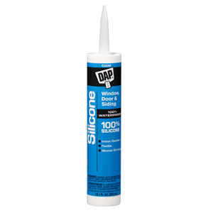 Window & Door 100% Silicone Rubber Sealant- Clear
