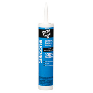 Window & Door 100% Silicone Rubber Sealant- White