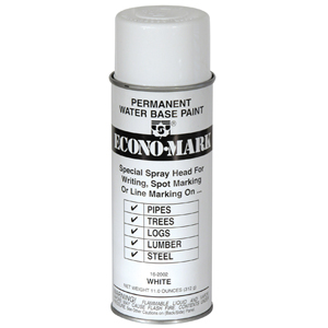 EconoMark Marking Paint - White- 11.2 oz.