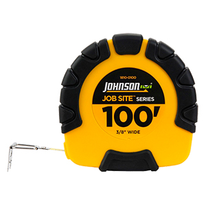 100' Job Site Geared Closed Case Steel Tape