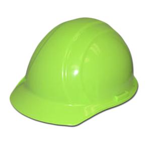 ERB Hi-Viz Lime Americana Hard Hat