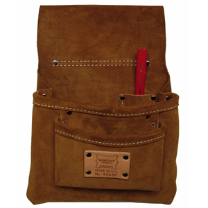 Heritage Suede Nail Bag - 3 Pocket