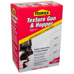 Homax Pneumatic II Spray Texture Gun & Hopper