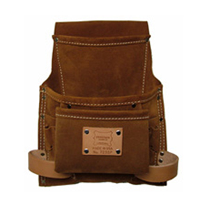 Heritage 9-Pocket Professional Suede Nail and Tool Bag