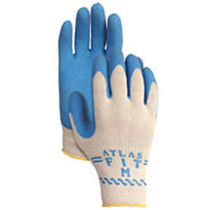 Atlas Fit with Blue Rubber Palm - X-Large