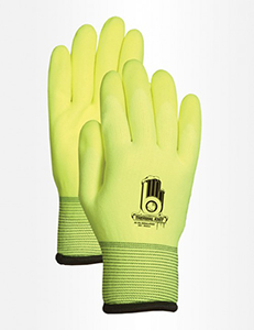 Hi Vis Insulated Work Gloves XL