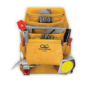 10 Pocket Carpenter's Nail & Tool Bag