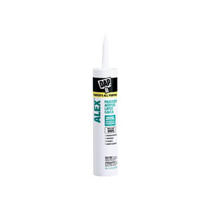 Alex Painter Caulk Acrylic Latex - White 10.1 oz
