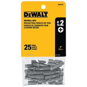 """#2 Phillips Drywall Bit Tip - 1"""" [25/pk]"""