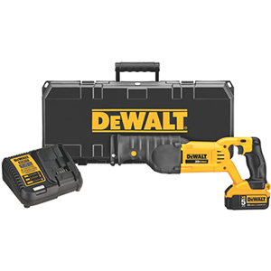 DeWALT 20V MAX* Cordless Reciprocating Saw Kit