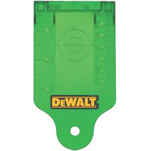 Green Laser Target Card