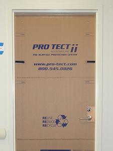 Light Door Shield Fits 3', 2'8