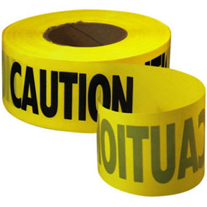 Empire 1000' x 3'' Caution Barricade Tape