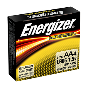 Energizer Industrial AA (4pk)