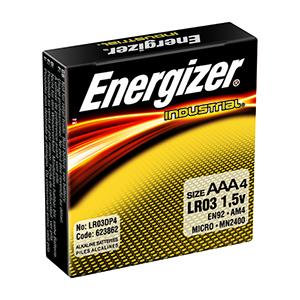 Energizer Industrial AAA (4pk)