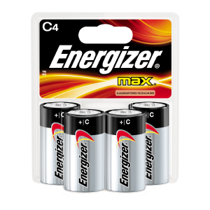 Energizer MAX C Batteries (4)