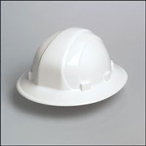 Omega II Full Brim Ratchet Hard Hat - White