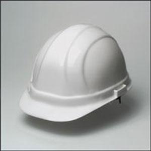Omega II Mega Ratchet Hard Hat - White