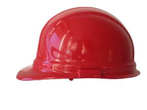 Omega II Mega Ratchet Hard Hat [Red]