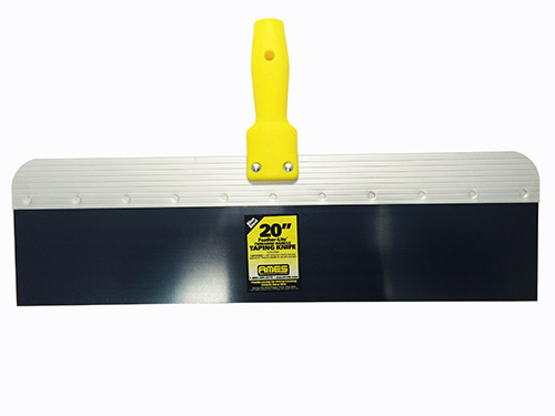 24 Aluminum Back Bs Drywall Knife With 6 Plastic Threaded Handle