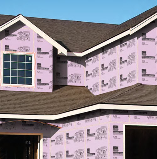 2 in x 4 ft x 8 ft FOAMULAR® 250 Rigid Insulation