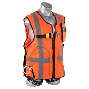 Deluxe Construction Tux Harness - Orange - XL