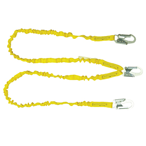 6' Internal Shock Lanyard - Double Leg