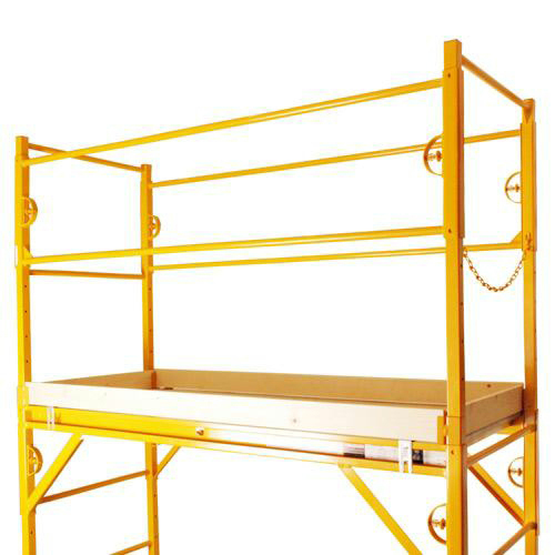 Nu Wave Scaffolding : Nu wave guardrail kit for scaffold w toeboards at tsw