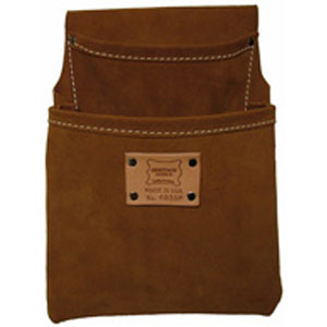 2-Pocket Professional Suede Drywall Pouch